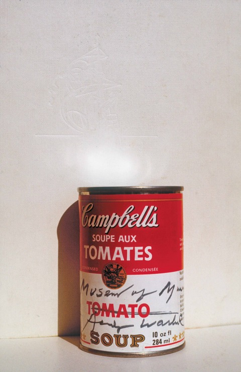 Dov Or-Ner, Homage to Andy Warhol: Burying a Campbell's Tomato Soup Can, Alaska, 1976