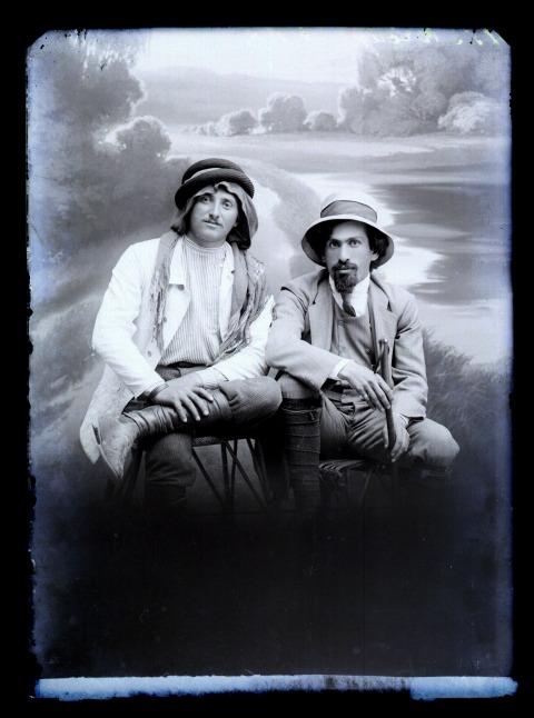 Avraham Soskin. Mendel Portugali and Israel Shochat, 1911