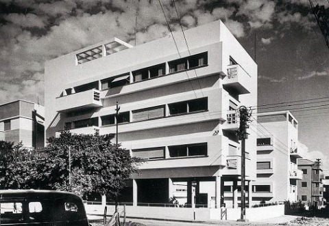 Yitzhak Kelter, Engel House, Tel Aviv, probably 1940