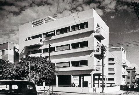 Yitzhak Kelter, Engel House, Tel Aviv, probably 1940