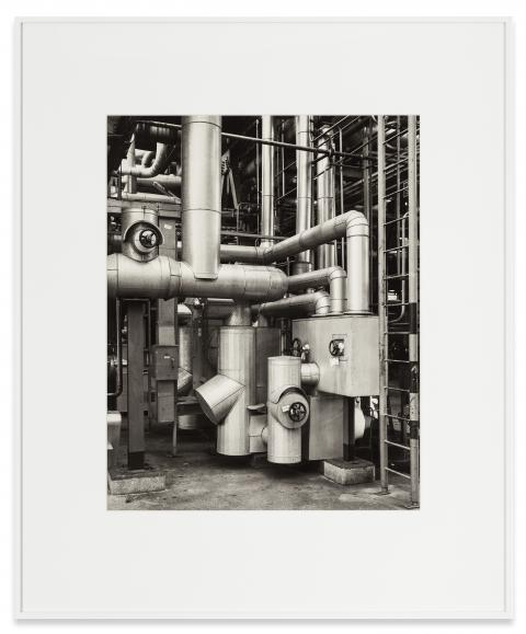 Bernd   Hilla Becher  Detail, Petrochemical Plant, Wesseling, GER, 1992  Black and white photograph  60 x 50 cm  91,5 x 75 cm (framed)  Copyright Bernd   Hilla Becher  Courtesy Sprüth Magers