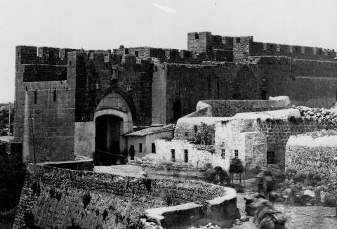 Felix Bonfils, Jaffa Gate, 1860-1880