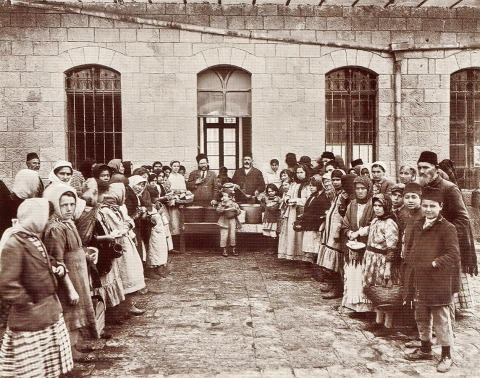 Tzadok Basan, Soup Kitchen, Jerusalem 1920
