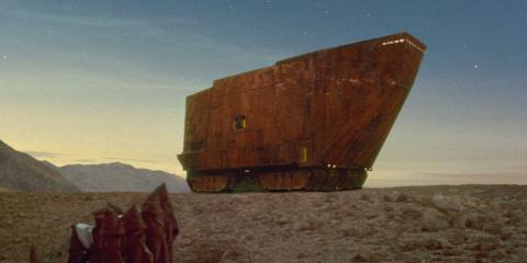 Sandcrawler from Star Wars