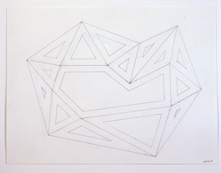 Richard Deacon, Alphabet, 2004-2005