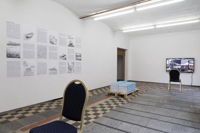 Main exhibition room, After the Butcher. Photograph: Sophie-Therese Trenka-Dalton