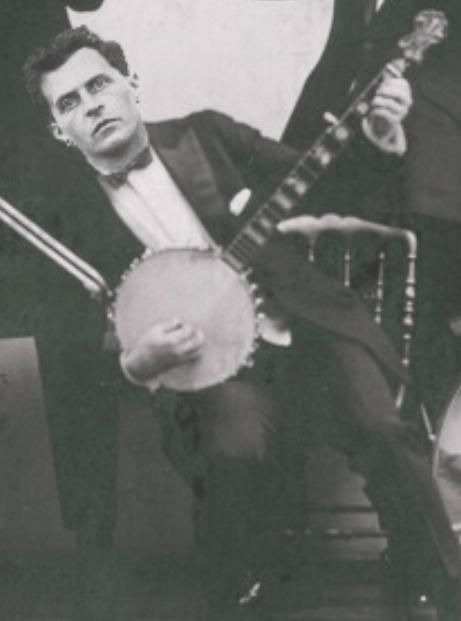 Wittgenstein playing the banjo