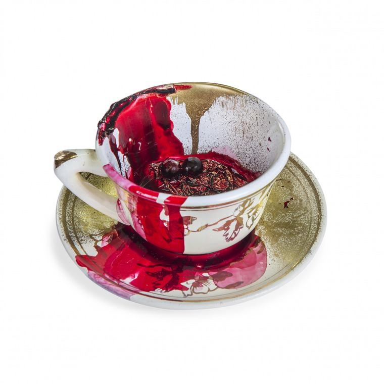 Anisa Ashkar, Cup, 2015 Mixed media