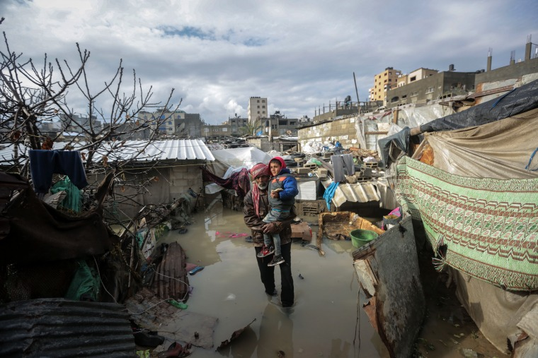 Floods, Jabaliya refugee camp, Gaza Strip, 16.2.2017