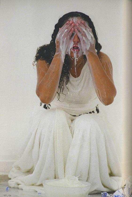 Anisa Ashkar, Barbur 24000, 2004. Performance