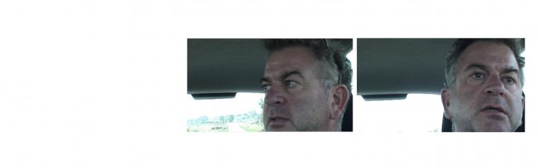 מתוך וידאו של משימתו השנייה של אבי מוגרבי, הצד האחר של חוות שבעה, 9 דקות, 2008.