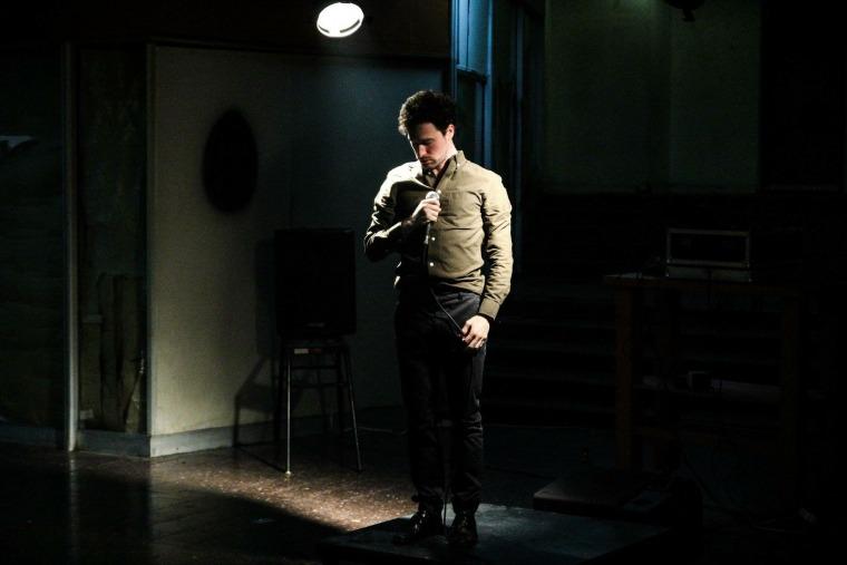 נדב בן-נון, מתוך המופע העצמוני, פסטיבל הפנזינים, 2018