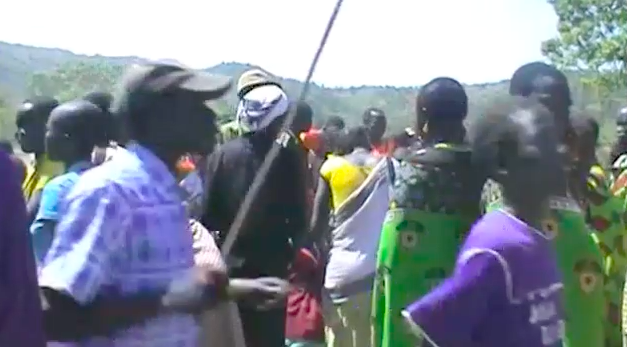 Still from a video photographed by Abraham of Ngatuba on his trips back to his homeland in Eastern Equatoria, S. Sudan