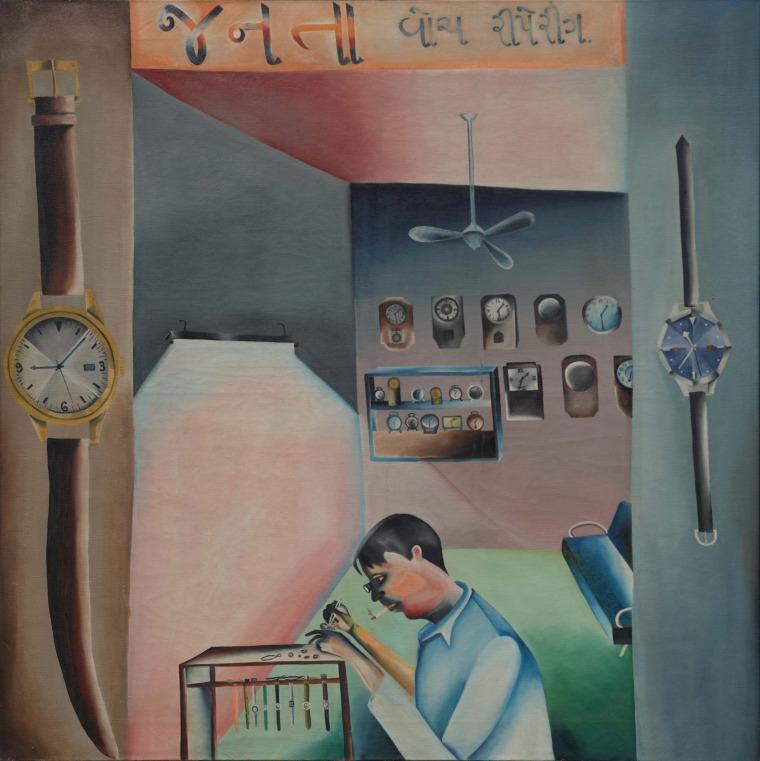 בופן קאקהר. ג'נטה מתקן השעונים. 1972