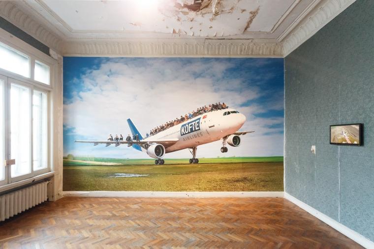 Halil Altindere, Köfte Airlines, Sadık Pasha Mansion, Cihangir, 2017