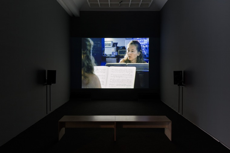 Nir Evron,  La Solitude Installation view, Tel Aviv Museum of Art, 2016. Design: Dan Hasson. Installation photography: Elad Sarig