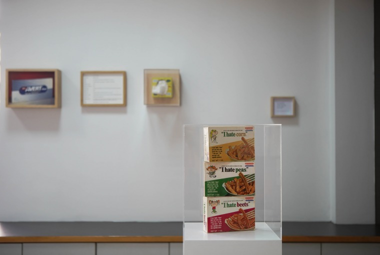 Maryam Jafri, Product recall An index of innovation, 2014 2015, installation view Photo- Nysos Vasilopoulos Courtesy of the 6th Athens Biennale 2018