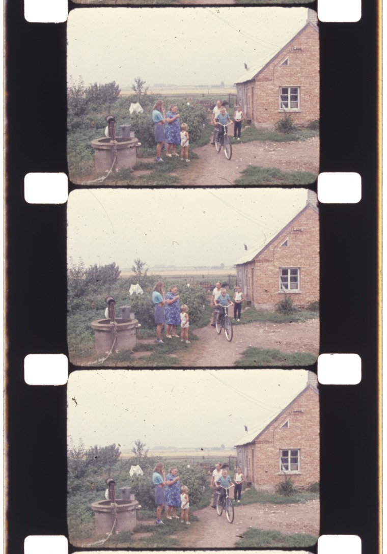 "Still from Joans Mekas's ""Reminiscences of a Journey to Lithuania"" (1972) Courtesy of The Estate of Jonas Mekas"