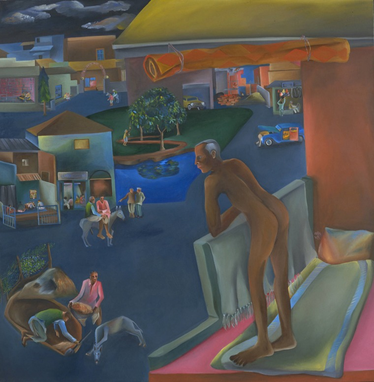 Bhupen Khakhar. You Can't Please All. 1981
