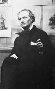 Nadar.  Charles Baudelaire, 1855.  Bibliothèque Nationale, Paris.