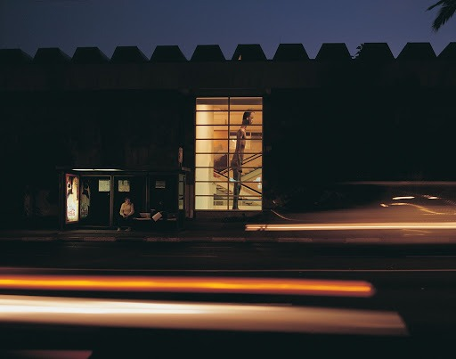 Ohad Meromi, The boy from south Tel Aviv, Exterior view, Helena Rubinstien pavilion, The Tel-Aviv Museum of Art; 2001.