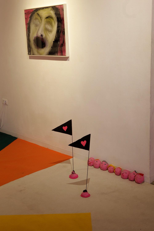ברבור שחור, ברבור לבן. גלריה ברבור, 2017