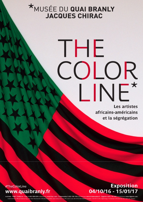 The Color Line: Les Artistes Africains-Américains et la Ségrégation, at Quai Branly Museum