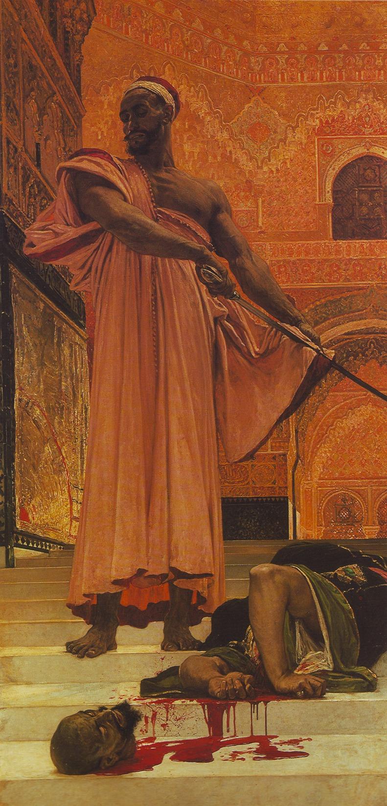 Henri Regnault. In Exécution sans jugement sous les rois maures de Grenade