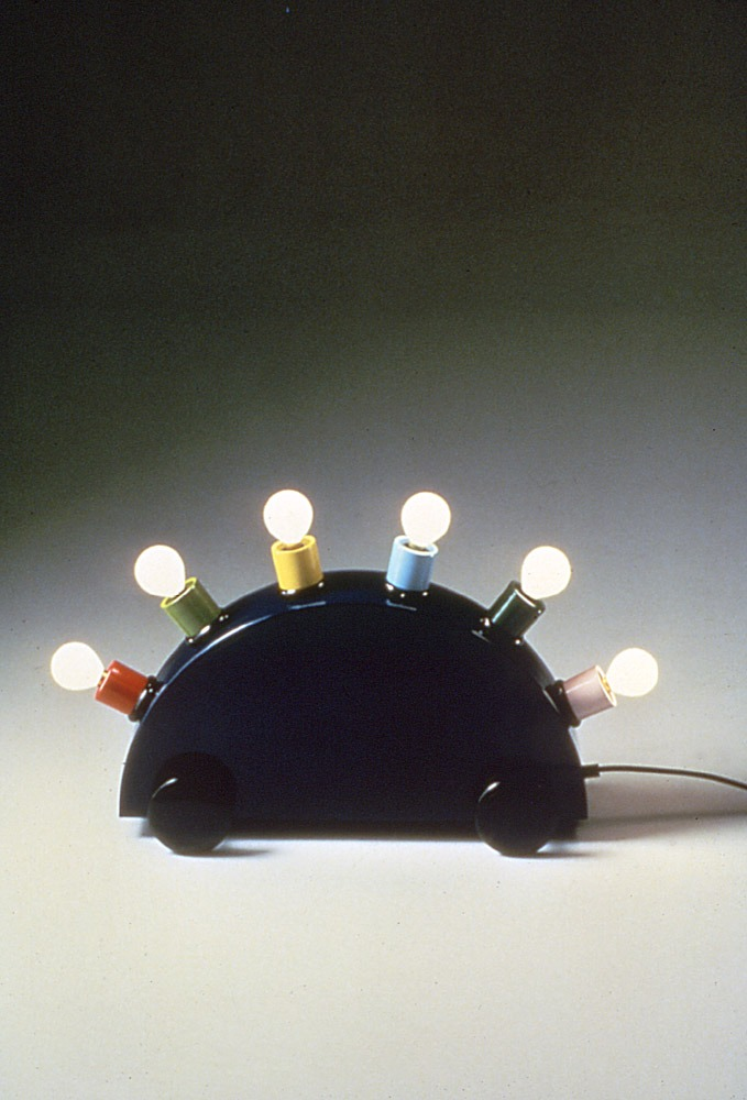 Martine Bedin, Superlamp, 1981, produced by Memphis, Italy  Courtesy of Martine Bedin