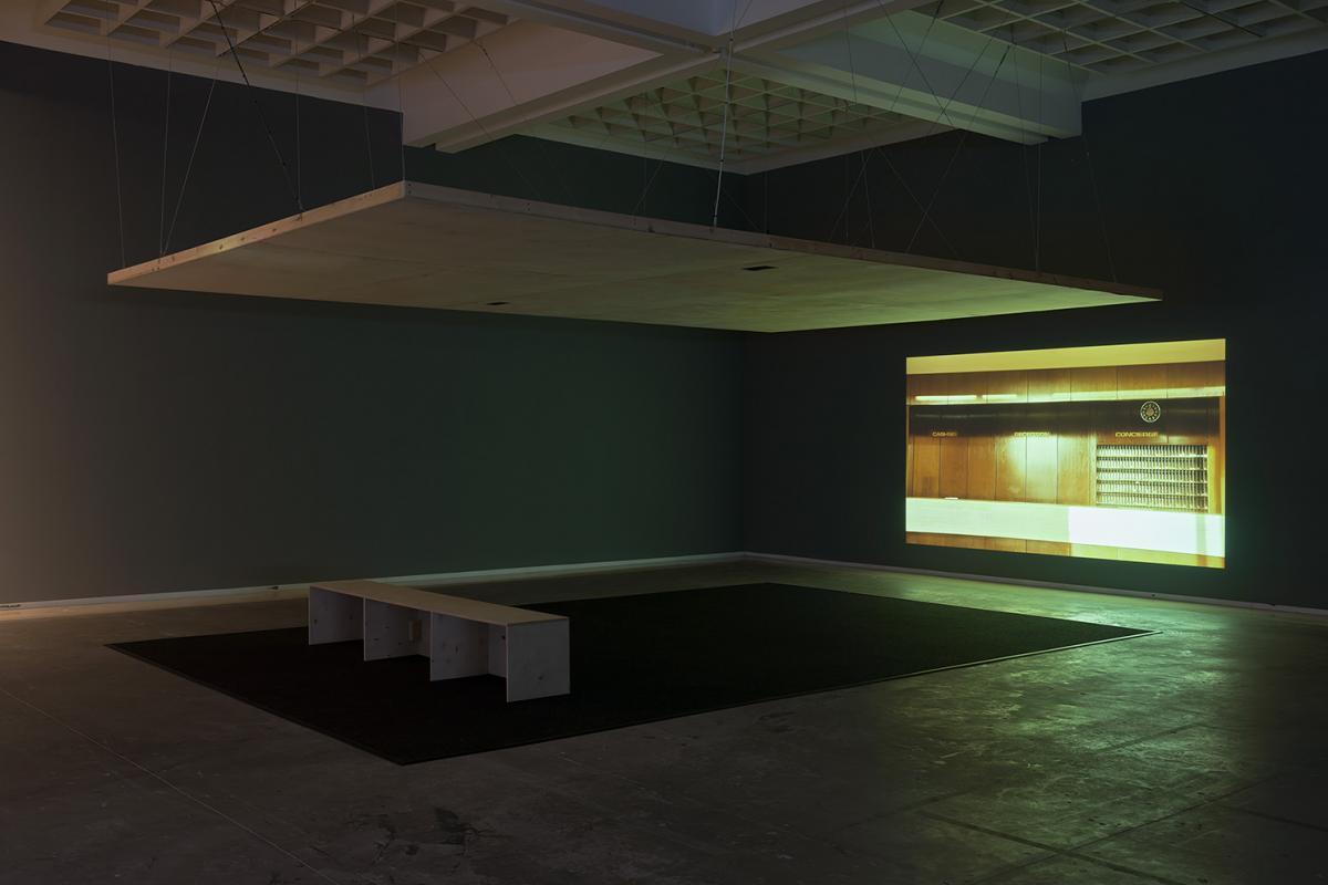 ניר עברון, קשת מזרחית, מוזיאון תל אביב, 2016