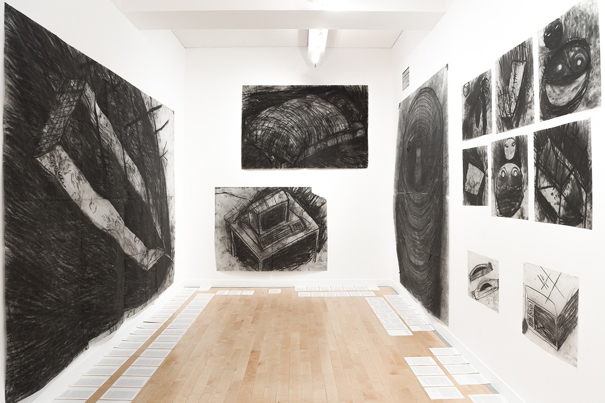 Miriam Cahn, installation view, Benaki Museum—Pireos Street Annexe, Athens, documenta 14, photo: Stathis Mamalakis