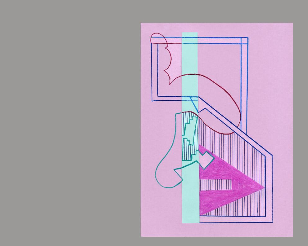 """טוני נבוק, """"שעות עגולות"""", רישומי לוח שנה, 2015"""