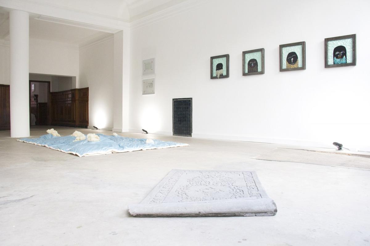 Various works of Fadi al Hamwi, Hiba al Ansari, Arthur Laidlaw