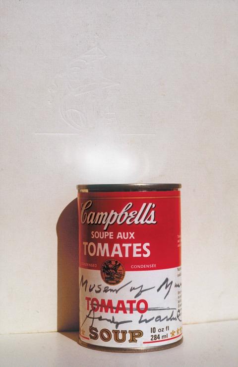 דב אור-נר, מחווה לאנדי וורהול: הטמנת קופסת מרק עגבניות קמפבל, אלסקה, 1976