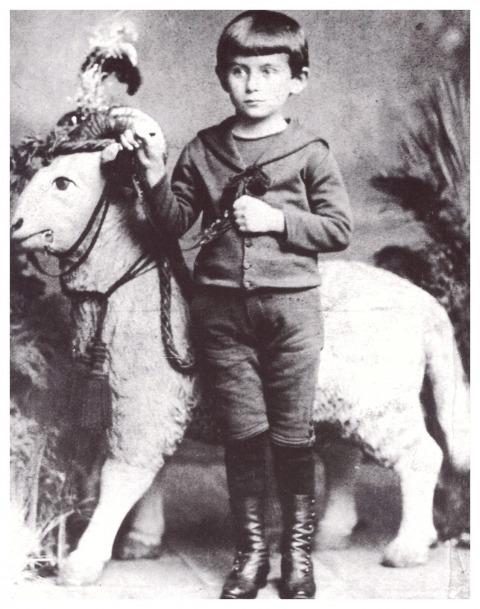 קפקא בגיל 5
