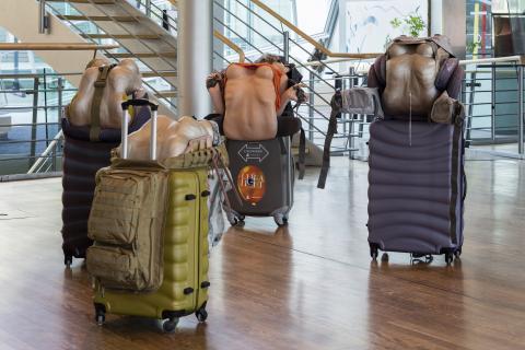 אנה אודרברג, מצב נסיעה – הרפתקה. 2014-2016 ליידי יחודית (2014),  ליידי יחודית מס' 1 (2016),  ליידי יחודית מס' 2 (2016),  ליידי יחודית מס' 3 (2016). מראה הצבה