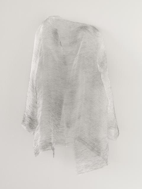 """דוריס סלסדו, Disremembered I, 2014, חוטי משי ומחטי תפירה, 89x55x16 ס\""""מ, אוסף דיאן וברוס האלה"""