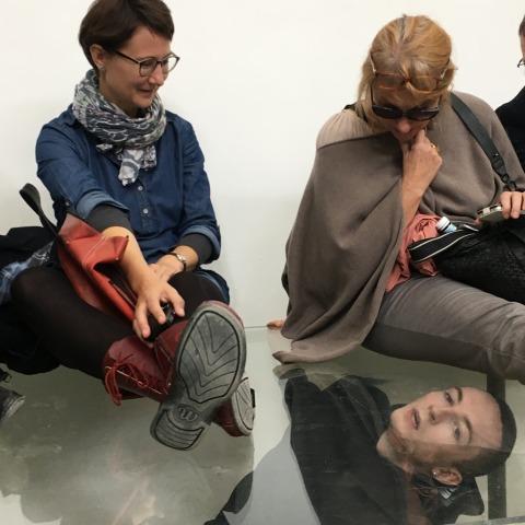 מיקי מאהאר מתוך: אן אימהוף, פאוסט, 2017, הביתן הגרמני, הביאנלה ה-57 בוונציה  צילום: תומר ספיר