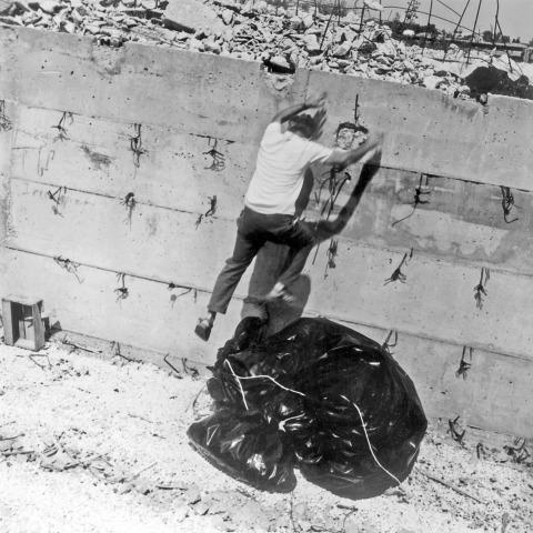 דב אור-נר, פרויקט מחזור, מוזיאון ישראל, 1975