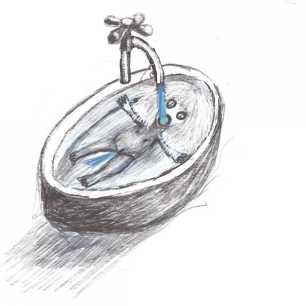 """תגובה לינאי קלנר, """"יש נקודה מסוימת שבה הכל עובד"""" מתוך התערוכה """"חוף בטון"""" גלריה """"שער 3"""", חיפה אוצרת: איריס סינטרה 20 בספטמבר – 20 בנובמבר, 2018"""