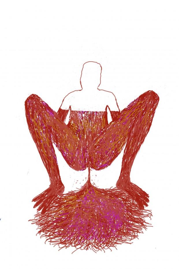 """תגובה לתפארת דמארי מתוך התערוכה """"רקמת חיבור"""" בית הנסן אוצרת: גבי המבורג פימה 14 בפברואר – 15 במרץ, 2019"""