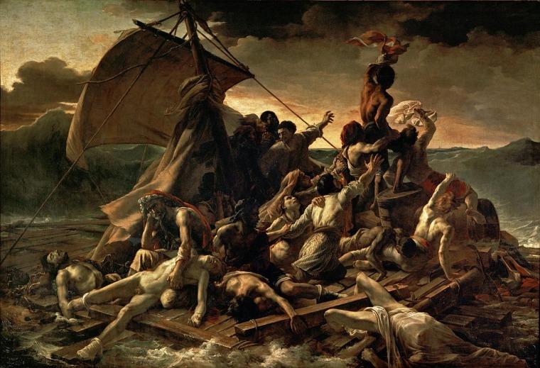 תיאודור ז'ריקו, רפסודת המדוזה, 1818-9