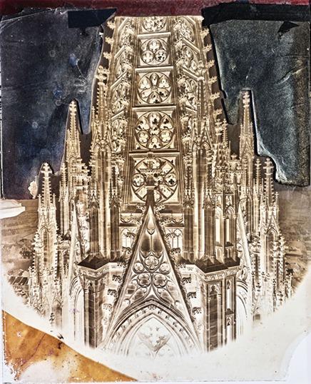 אולה קולמיינן, כיפת קולנר (מגדל מחט), 1248-1880    (RB-Archiv c. 1870-1880), 2018 © אולה קולמיינן