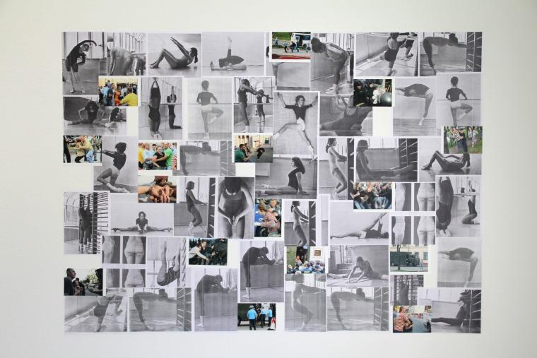 מרינה נפרושקינה, אירובי ביתי, 2012, מראה הצבה באדיבות האמנית