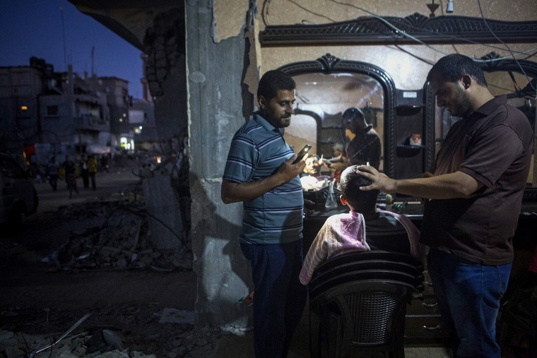 לאחר המלחמה בעזה, ח׳וזאעה, רצועת עזה, 9.9.2014  © אקטיביסטילס