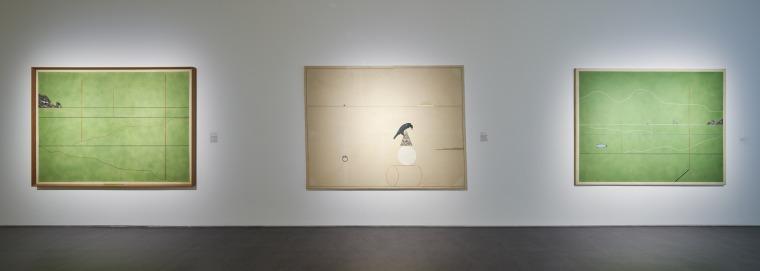 דרק ג'רמן, למחות!, מראה הצבה, המוזיאון לאמנות מודרנית, אירלנד (IMMA)