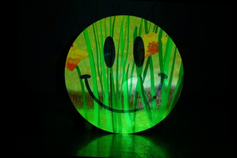 יואב רודה, Hockney's Spring Deep House Remix, 2020, צילום הקרנה