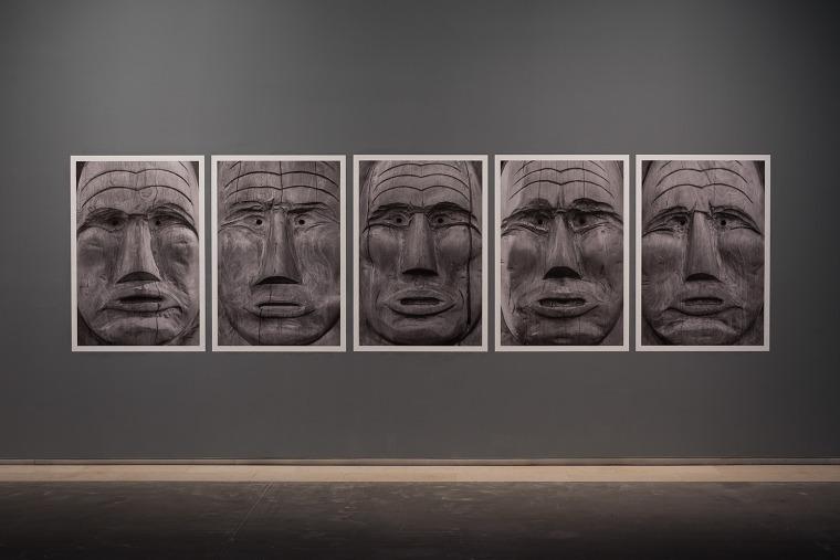 Jamestown (totems) ניר עברון, מוזיאון תל אביב, 20016