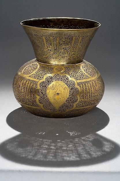 مصباح جامع السلطان بيبرس، ربما من العام 676 للتقويم الهجري (1277)