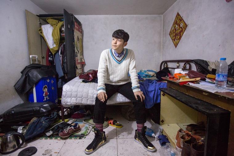 """سيم تشي ين، من مجموعة """"قبيلة الجرذان""""  (The Rat Tribe)"""